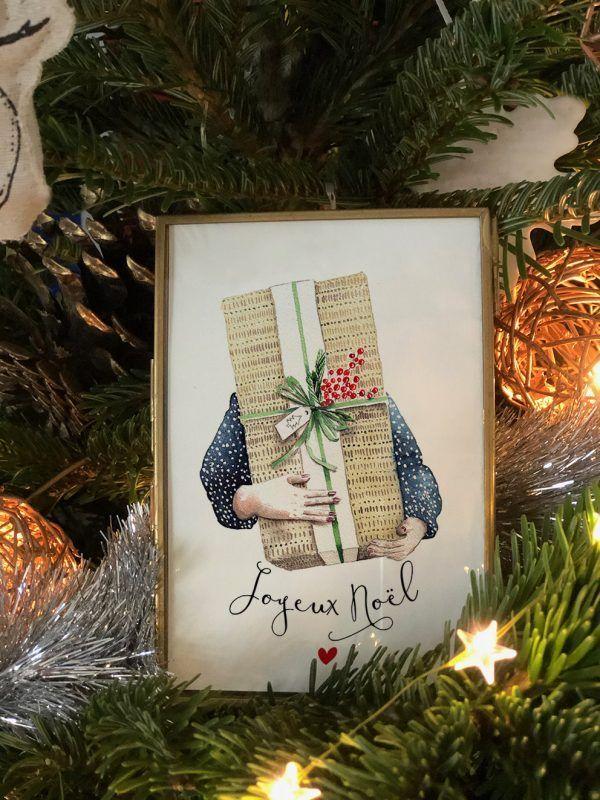 cartes-postales--joyeux-noel-gros-cadeau-2-les-reves-de-caro