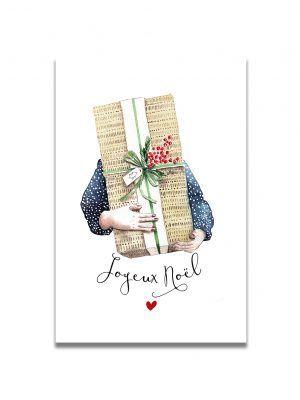 cartes-postales-joyeux-noel-gros-cadeau-les-reves-de-caro