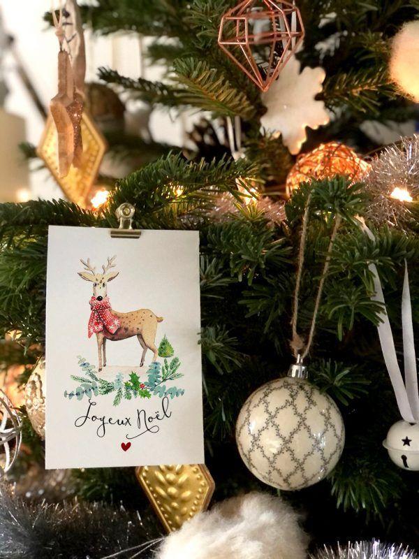 cartes-postales-joyeux-noel-renne-les-reves-de-caro