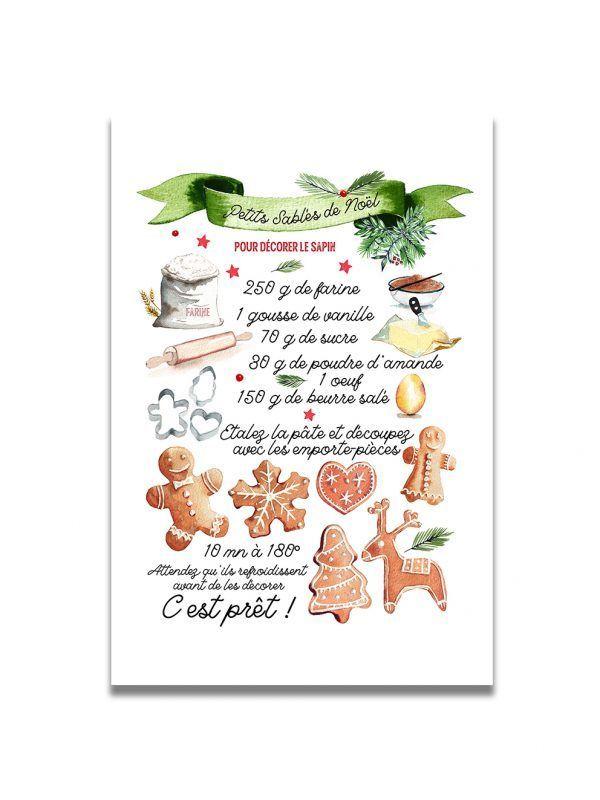 cartes-postales-sable-noel-les-reves-de-caro